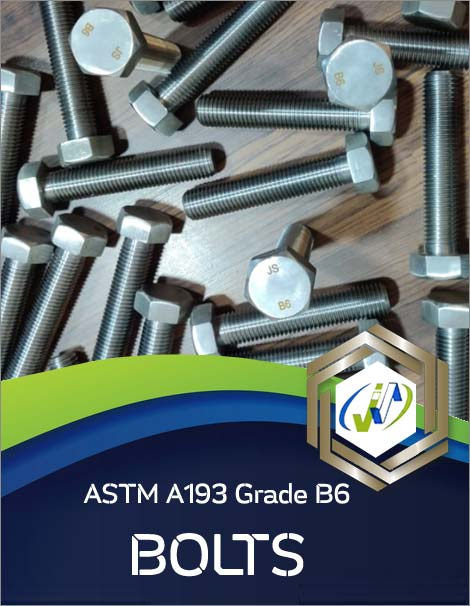 Types of ASTM A193 Grade B6 Bolts