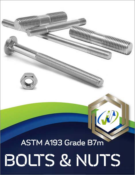 Types of ASTM A193 Grade B7m Bolts