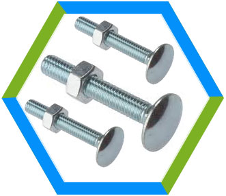 DIN 603 Mu - Carriage Bolts With Hexagon Nuts