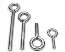 Stainless Steel 304 Collared Eye Bolts