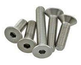 A193 Grade B6 Stainless Steel Flat Head Screw