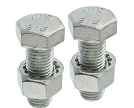 """Full Threaded Zinc Plated 1-1//2 to 3/"""" 1//2 UNF Set Screws HT High Tensile"""