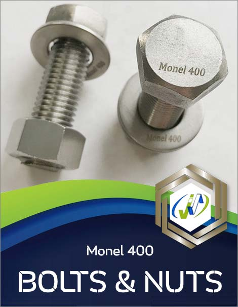 Monel 400 Bolts and Nuts