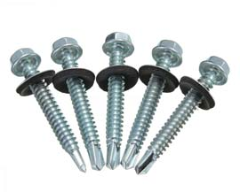 Stainless Steel A2-70 G304 Hex Head Roofing Screws