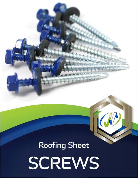 Types of Roofing Sheet Screws
