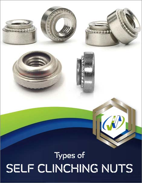 Types of Self Clinching Nuts
