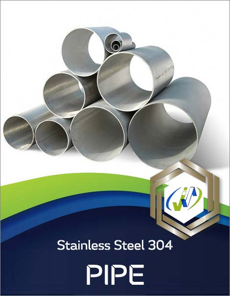 Types of Stainless Steel 304 Seamless Pipe