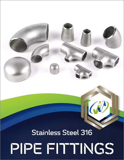 Types of Stainless Steel 316 Pipe Fittings