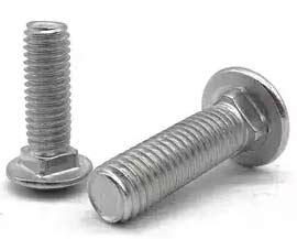 Polished Stainless Steel Carriage Bolts