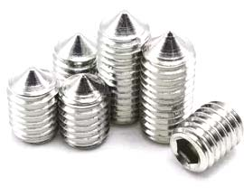Stainless Steel 316  Cup Point Set Screws