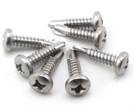 ASTM A193 Grade B7m Round Head Wood Screws